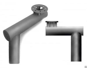 Закладные фундаментные части и консоли