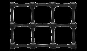 двуосная геосетка